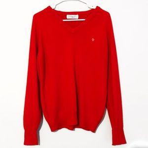 Vintage Christian Dior V-Neck Sweater